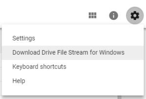 install file stream
